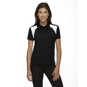EXTREME Ladies' Eperformance? Colorblock Textured Polo
