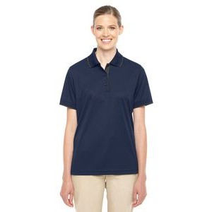 CORE 365 Ladies' Motive Performance Piqué Polo with Tipped Collar