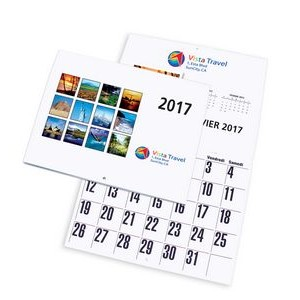 "Wall Calendar w/ Stock Images (11""x8 1/2"")"