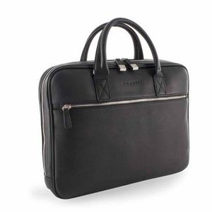 Bugatti Sartoria II Top Grain Leather Slim Business Briefcase