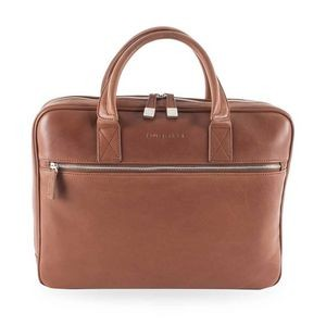 Bugatti® Sartoria II Slim Business Briefcase (Cognac)