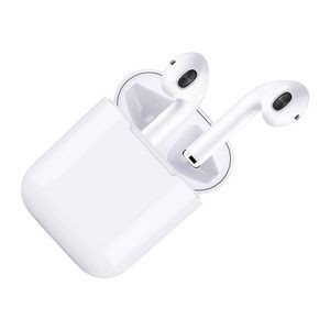 Double 3D Stereo Bluetooth Earphones with Charging & Storage Box Excellent Quality