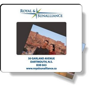 "1/8"" Traditional Mousepad (7.5""x9"") with Flip-up Top in Spot Colours"