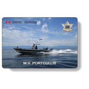 "1/16"" Rubber Back Mousepads with Sealed Edges / Rectangle (7.5"" x 11"") Four Colour Digital Imprint"