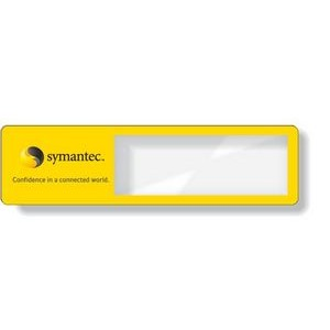".020 Clear Plastic Magnifier Bookmark (1.44"" x 5.25"") Digitally printed"