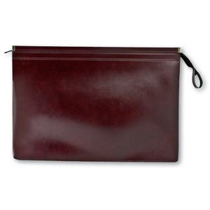 "16 ½"" x 10 ½"" Underarm Briefcase in Synthetic Leather"