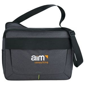 "Zoom® Power Stretch 15"" Computer Messenger Bag"