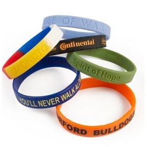 Classic Silicone Wristband (Embossed or Debossed)