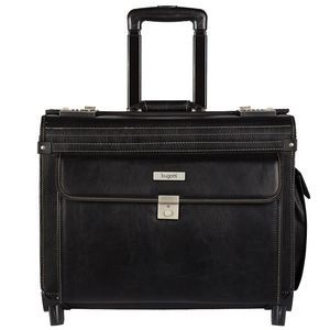 Warren Business Case on Wheels w/Pebble Finish