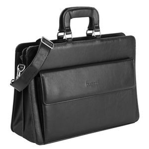 Double Compartment Executive Briefcase