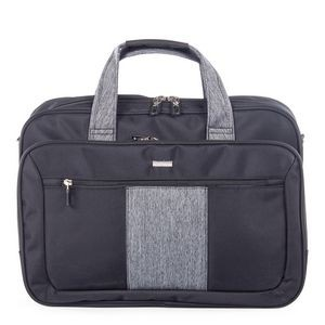 Double Compartment Soft Briefcase