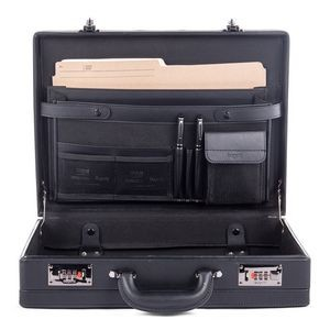 "Jeffrey Expandable Attaché Case (17""x12""x4/5"")"