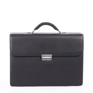 Sartoria Medium Top Grain Leather Briefcase