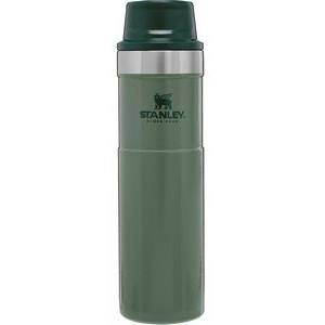 Stanley® Classic Trigger-Action travel mug 20 oz hammertone green