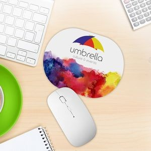 Oval Shaped Mouse Pad