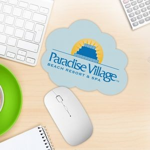 Cloud Shaped Mouse Pad