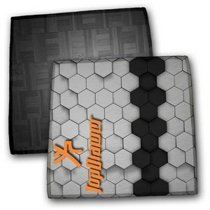 Microfiber Duo-Cloth Square Mouse Pad