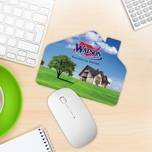 House Shaped Mouse Pad