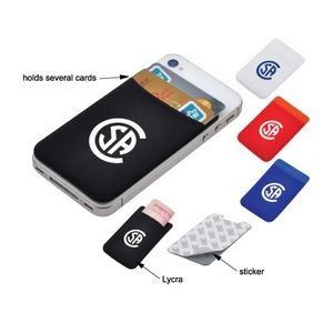 Smart Mobile Wallet W/Adhesive Back