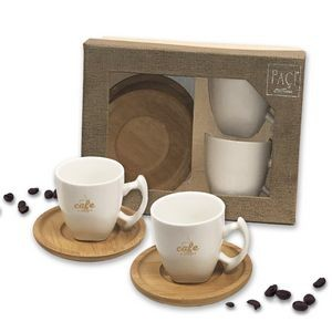 Espresso Cup and Saucer Gift Set