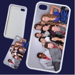 iPhone Case -Rubber w/Full Color Aluminum Insert