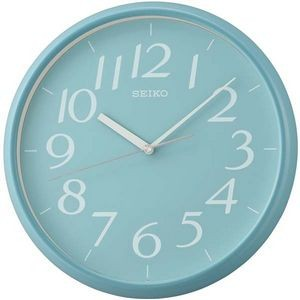 Seiko QXA719L Wall Clock Colletion - Baby Blue