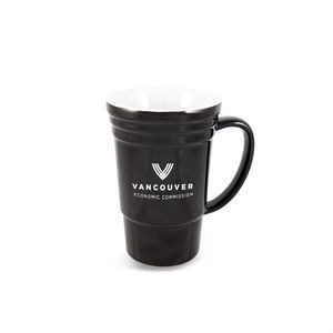 The Glazed Ceramic Mug - 17oz Black