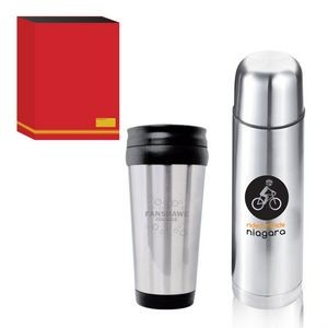 The On-the-Go Gift Set - Red Sleeve