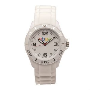 The Morrison Unisex Watch - White