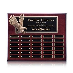 Flying Eagle P/Plaque - Rosewood 30 Plate