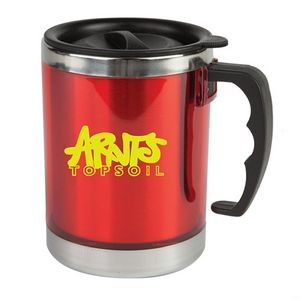 The Flavour Double Wall Mug - 15oz Red