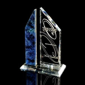 Sierra Award Blue/Clear 8¾""