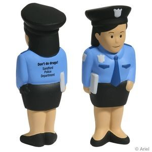 Police Woman Stress Reliever
