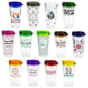 Reef 16 oz Tritan Tumbler with Translucent Lid