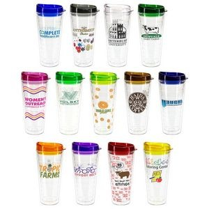 Seabreeze 22 oz Tritan Tumbler with Translucent Lid