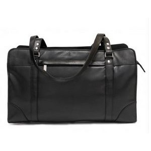 Carlton Ladies Briefcase w/Shoulder Strap