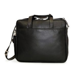 ASHLIN ANTA|Casual Briefcase Soft Sided |Black Leather