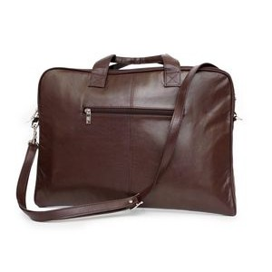 Legend Slim Laptop Case (Dark Brown Leather)