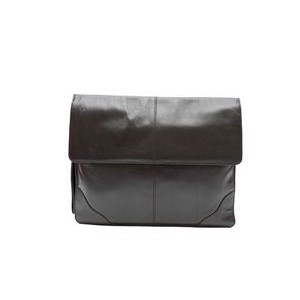 Sanmarino Underarm Briefcase - Valise (Black Leather)
