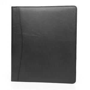 "Lorenz Executive (1.5"") 3-Ring Binder - Black Napoli Cowhide Napa"