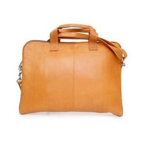 Legend Slim Laptop Case (Tan Leather)