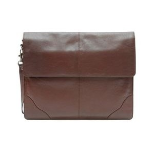 Sanmarino Underarm Briefcase - Valise (Dark Brown Leather)