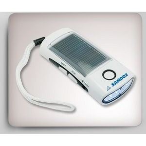 Solar Flashlight/ Radio/ Charger