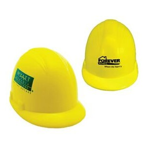 Yellow Hard Hat Stress Reliever